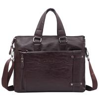 men messenger shoulder bags  vintage bag handbags designers brand man  bag 2014 high quality leather handbag Brown