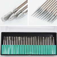 30pcs/set Nail Drill Bits for Electric Nail Drill Manicure Drilling Machine Nail Art Hand Professional Manicure Drills Tool NB1