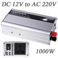 1000W WATT DC 12V to AC 220V Portable USB Car Power Inverter Adapter Charger Voltage Converter Transformer Universal