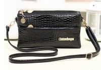 Bolsas Femininas Real Silt Pocket Zipper Women Handbags Bolsas Women Handbag Clutch 2014 Ladies Leather Bags for Purse Hot Sale!