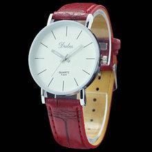 New Free Shipping High quality Quartz Leather Wrist Bracelet Fashion Women Watch Ladies Wristwatch(China (Mainland))