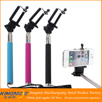 Universal Mobile Phone Holder Extendable Handheld Camera Tripod Wireless Mobile phone Monopod