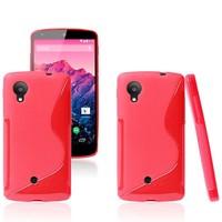 S-line Wave Soft TPU Gel Case Cover For LG Google Nexus 5 D820 D821 New Arrival Nexus 5 Cell Phone Cases 8 Colors