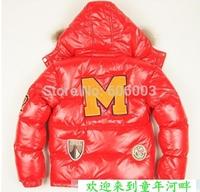 free shipping winter 2014 brand children down jacket for boys kids coat jacket ,children outerwear  MON012