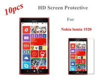 Free Shipping New High Quality 10 pcs/Lot HD Wearable Front Body Clear Screen Protector Protective Film For Nokia Lumia 1520