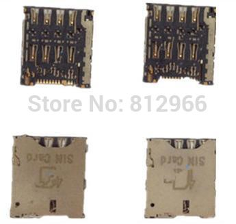 10pcs/lot,for TCL idol X + S960, original and new sim card reader connector holder ,HK free shipping