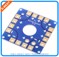 5PCS  Blue MK KK Multi-Copter Power Battery to 8 ESC Connection Board For Multi Quad Hexa Copter UFO + Free shipping