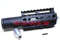 New high quality 4.0 inch Handguard Rail System Combination suit (BK/CB) for AEG M4 - Free shipping