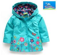 free shipping Topolino girls mice waterproof hooded windbreaker children's wear coat kids coat  baby spring jacket