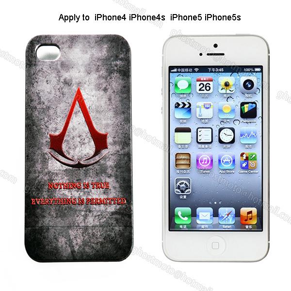 Чехол для для мобильных телефонов Assassins Creed iphone 5S 5 4S 4 CS121
