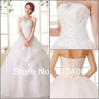 2014 New Fashion Full Glass Beads Cheap Dress Sweet Sexy Crystal Wedding & Events Dresses For Women vestidos de noiva Sale D-79