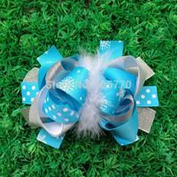 2014 hair accessory ribbon bows accessories  hairbow hair bows 201465