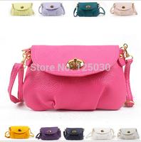 Retail 2014 new fashion ladies mini handbags lock Shoulder women messenger bags Free shipping