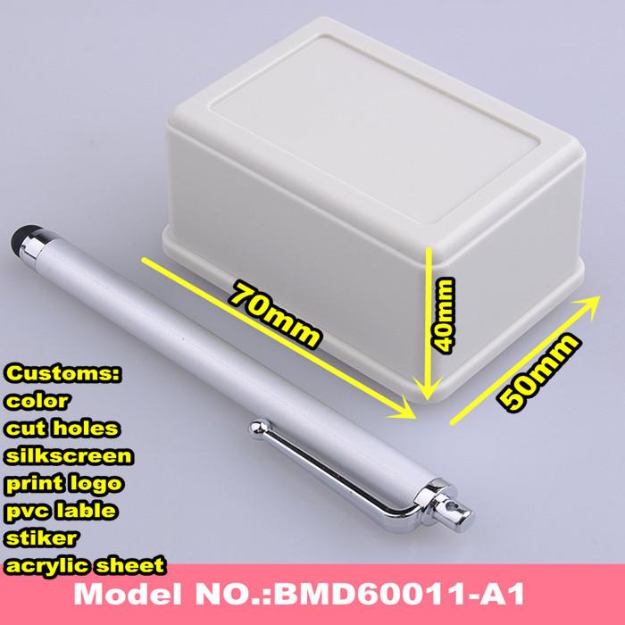 (7pcs) ABS plastic enclosure plastic junction box plastic electrical panel box 70*50*40mm(China (Mainland))