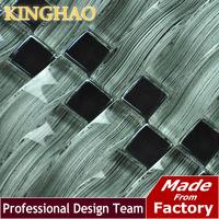 2014 limited sale tablet modern parquet tile [kinghao] grays mosaic kitchen backsplash kar02 glass tile tiles patternfloor