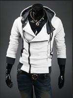 2014 hot  Sports Hooded Jacket Casual Winter Jackets hoody sportswear Assassins Creed Men's Clothing Hoodies Sweatshirts