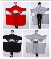 Plus size quality transparent hairdressing cloth barber cloth transparent window salon aprons cut cloth