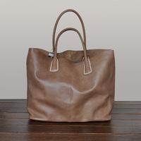 Free  shipping Fashion big bags 2014 women's genuine leather handbag handmade leather bag vintage shoulder bag casual handbag