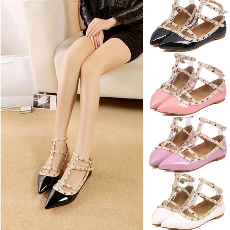все цены на Женская обувь на плоской подошве PU sapatilhas femininos S032 онлайн