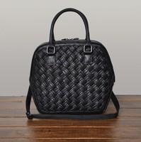 Bolsa New Limited Bolsas Women Handbags Fashion Sheepskin 2014 Woven Women's Bag Genuine Leather Handbag Messenger High Quality