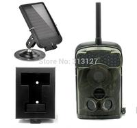 LTL 5310WMG 100 degree Wide angel 940NM 12MP MMS/GPRS Digital game hunting trail camera wild camera+Solar charger+Iron box