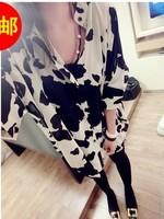 2014 the new spring clothing  irregular design big shirt