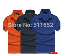 New 2014 brand size XL XXL XXXL Fashion Shirt For Mens Casual POLO Shirts Men's Sport Polos tee shirts 8010 free shipping
