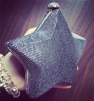 2014 bling bag women messenger bag small chain bag fashion star personality bag free shipping