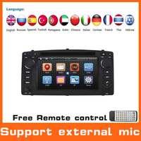 Car DVD GPS Radio Stereo Audio Player For Toyota Corolla E120  BYD F3 GPS Navi Navigation Car PC Head Unit ,Support External MIC
