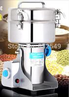 Stainless steel 1500g Swing type electric medicine grinder powder mills machine ultrafine grinding mill machine, Fedex/EMS Free