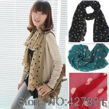 red velvet scarf promotion