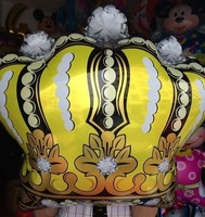 HOT! Crown Balloon Super Size Foil balloons Wholesales Kids Party Birthday Decoration