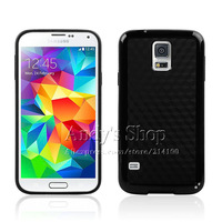 Hybrid Cases PC + Soft Back Cover for Samsung Galaxy S5 S V I9600,Free Screen Protector,Free Shipping
