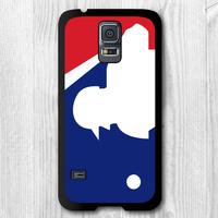 Major League Baseball MLB Protective Black Hard Cover Case For Samsung Galaxy S5 i9600 T310