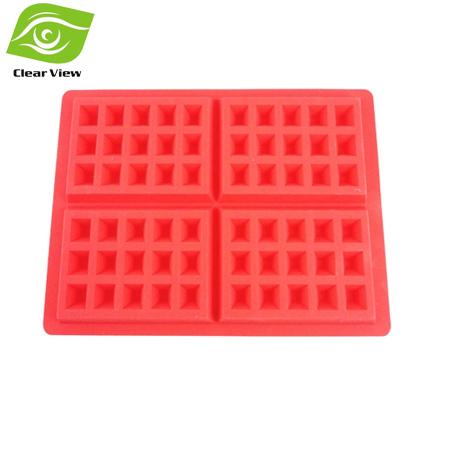 silicone do produto comestível waffles molde muffin fermento ferramentas bolo de molde do molde ferramenta diy cortador de biscoitos(China (Mainland))