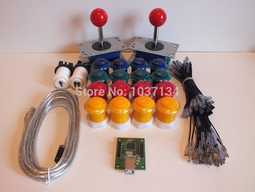 Hot Sale Arcade Joystick Parts to DIY Your Arcade Machine with USB controller(China (Mainland))