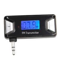 Universal 3.5mm Car Handsfree Wireless FM Transmitter for All Mobile Phones V3NF