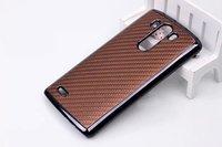 MOQ 1PC Luxury Carbon Fiber Hard Case for  LG G3 D855 , Chrome Plated Hard Case For LG G3 D855+  free shiping