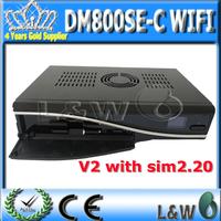 DM800se V2 Cable Receiver DM800HD se V2 with SIM2.20 300Mbps Wifi Enigma2,Linux Operating System dm800se-c wifi V2 Free Shipping