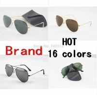 Free/drop shipping 1pcs / lot New design wholesale women/men sunglasses and brand sunglasses 58mm sun glasses