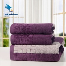 2014 quick dry a lot 3pcs 100% cotton beach bath towels set gift for adults soft solid towels for children kid in bathroom ST16(China (Mainland))
