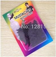 mustaches bottle cilps black bottle decoration supplies wholesale