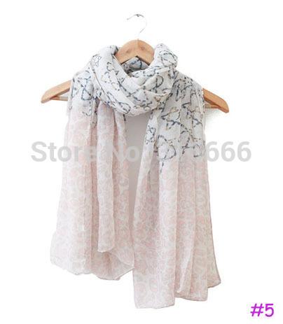 2014 fashion women summer spring scarf,stars print
