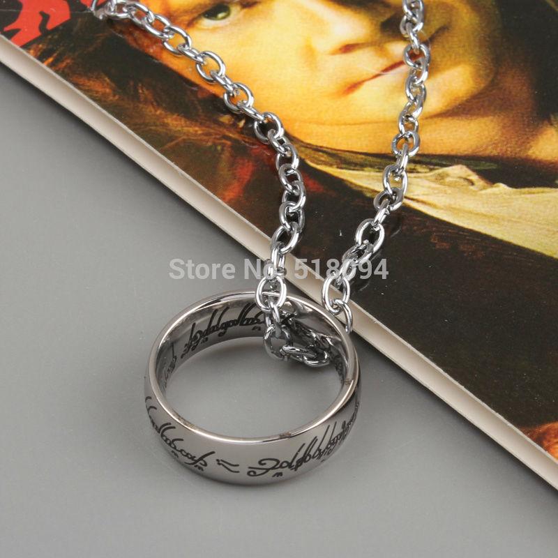 Розничные 1шт Хоббит 2 кулон ожерелье