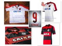 A+++ New 14 15 Top Thailand Brasil Clube de Regatas do Flamengo Home Away Futbol Jersey Brazil Camisa Soccer Shirt Football Kit