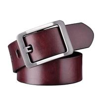 Classical designed genuine leather belt for men