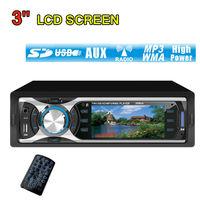 3'' LCD Screen Car MP5 Player MP4,MP3 Player Car Radio Audio Stereo Head In Dash Fm Receiver USB AUX