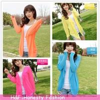 2014 Full Jackets Women Cardigans Jaqueta Feminina Shirt Sun For Clothing Grameen Hope Wholesale Rushed