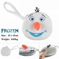 Cartoon Movie Frozen 15 Olaf the snowman Plush  Cosplay Coin Purse  samll bag Children handbag Toy Free Shipping