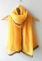 (free shipping) new muslim scarf,muslim lace  shawl ,muslim hijab 180*100cm viscose ,can choose colors